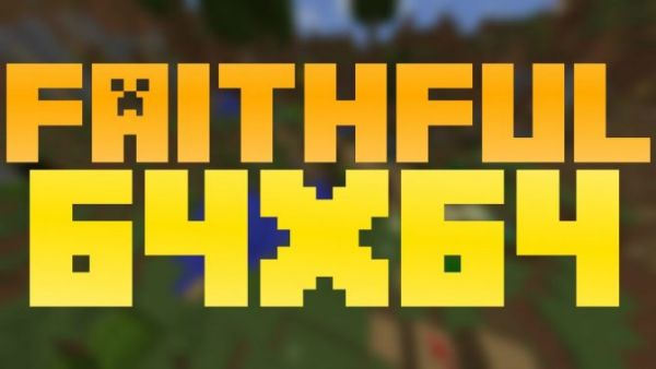 Faithful 64x64 Resource Pack for Minecraft 1.12.2, 1.11.2, 1.10.2, 1.9, 1.8